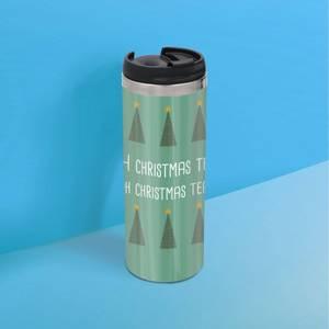 Oh Christmas Tea Oh Christmas Tea Stainless Steel Thermo Travel Mug - Metallic Finish