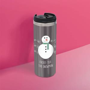 Frost Tea The Snowman Stainless Steel Thermo Travel Mug