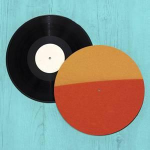 Burnt Orange Retro Slip Mat