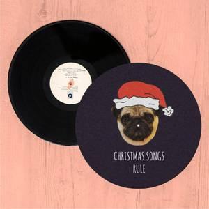 Christmas Songs Rule Slip Mat
