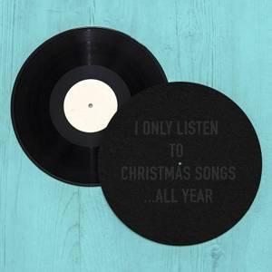 Christmas Songs All Year Slip Mat