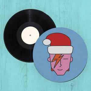 Bowie Christmas Slip Mat