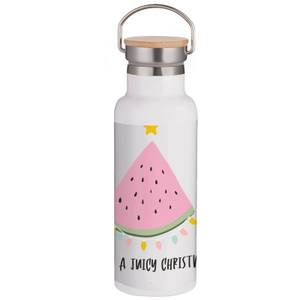 Have A Juicy Christmas Portable Insulated Water Bottle - White