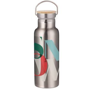 Snow Portable Insulated Water Bottle - Steel