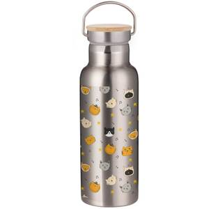 Caroling Cats Portable Insulated Water Bottle - Steel