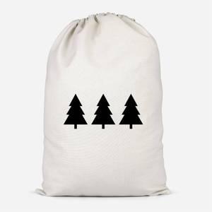 Christmas Trees Santa Sack