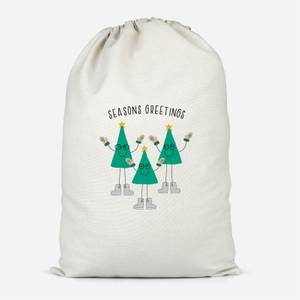 Seasons Greetings Santa Sack