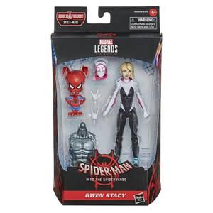 Figura de Acción Hasbro Marvel Legends Into the Spider-Verse Gwen Stacy and Spider-Ham