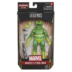 Hasbro Marvel Legends Series Spider-Man Marvel's Frog-Man Figure