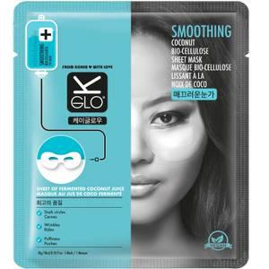 K-Glo Smoothing Coconut Bio-Cellulose Eye Mask