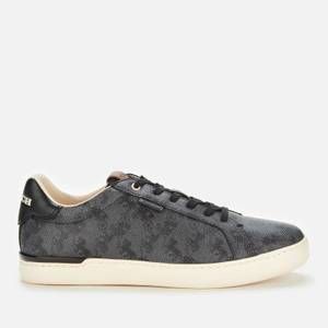 Coach Men's Lowline Horse and Carriage Low Top Trainers - Blue Steel