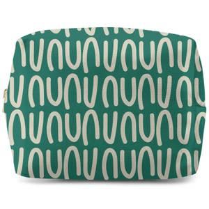 Green Natural Make Up Bag