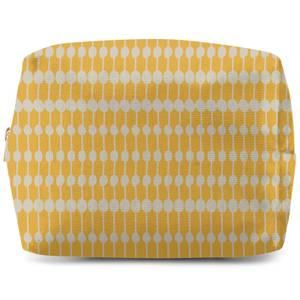 Yellow Dots Make Up Bag