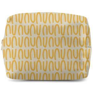 Yellow Natural Wash Bag