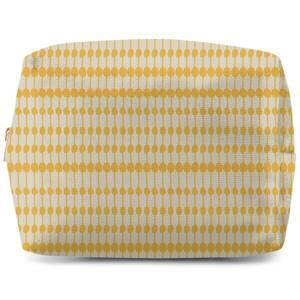 Yellow Dots Wash Bag