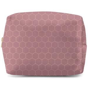 Honey Comb Wash Bag
