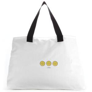 Lemons Large Tote Bag