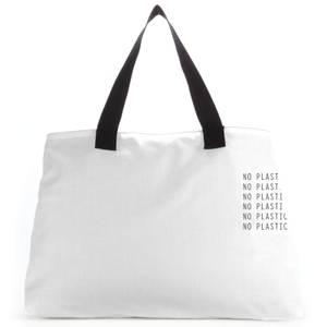 No Plastic Large Tote Bag