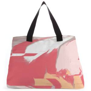 Pixel Red Colours Large Tote Bag