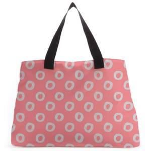 Circles Large Tote Bag