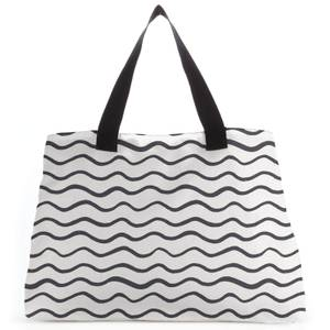 Squiggles Large Tote Bag