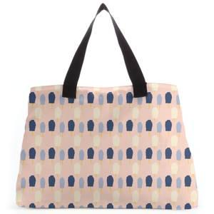 Blob Pattern Large Tote Bag