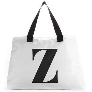 Z Large Tote Bag