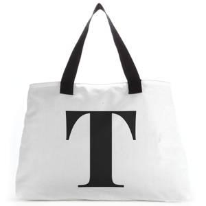 T Large Tote Bag