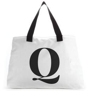 Q Large Tote Bag