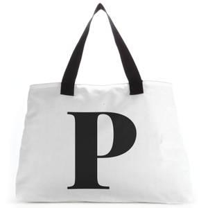 P Large Tote Bag