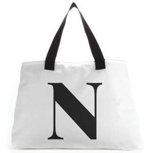 N Large Tote Bag