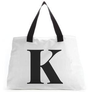 K Large Tote Bag