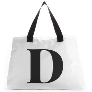 D Large Tote Bag