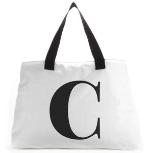 C Large Tote Bag