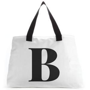 B Large Tote Bag