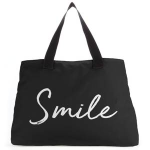 Smile Large Tote Bag