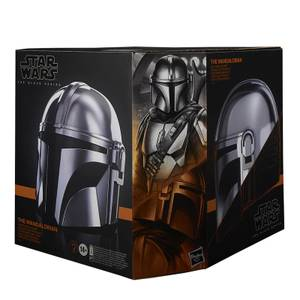 Casque Électronique The Mandalorian Hasbro Star Wars The Black Series Taille Réelle