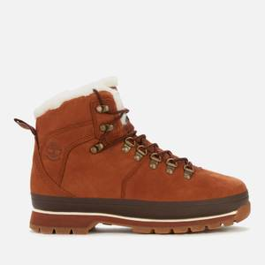 Timberland Women's Euro Hiker Furlined Boots - Saddle