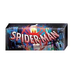 Hot Toys Marvel Spider-Man: Into the Spider-Verse Logo Lightbox - UK Exclusive