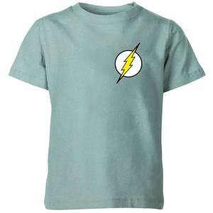 Flash Gordon Logo Kids' T-Shirt - Mint Acid Wash