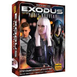Exodus Paris Nouveau - Card Game
