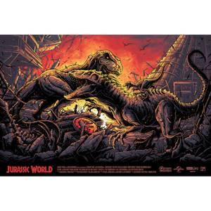 Impression Jurassic World 91*61 cm Variante Zavvi Exclusif - Dan Mumford