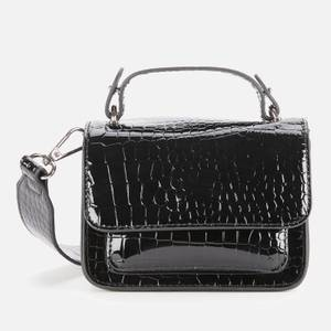 HVISK Women's Renei Croco Cross Body Bag - Black