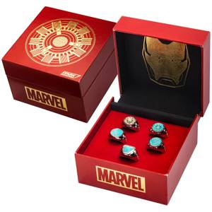 Marvel's Iron Man Arc Reactor Ring Limited Edition Replica Set - EU Exclusive