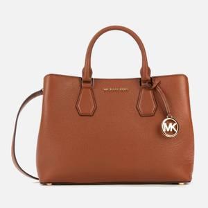 MICHAEL Michael Kors Women's Camille Large Satchel - Luggage