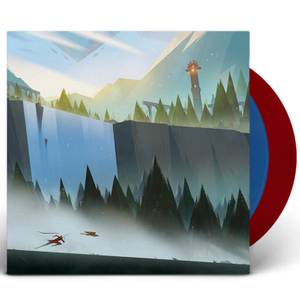 iam8bit - The Pathless 2xLP (Cleansed Blue and Cursed Red)