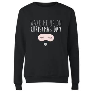 GLOSSYBOX Wake Me Up On Christmas Day Women's Christmas Jumper - Black