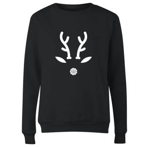 GLOSSYBOX Reindeer Women's Christmas Jumper - Black