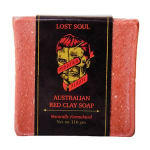 Modern Pirate Lost Soul Australian Red Clay Face/Body Soap 110g