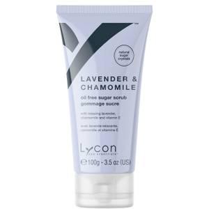Lycon Oil Free Sugar Scrub - Lavender And Chamomile 100g